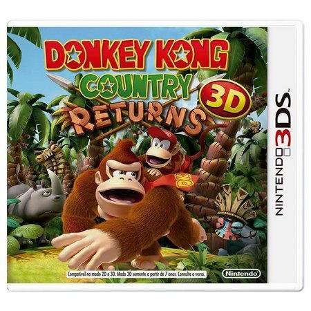 DONKEY KONG COUNTRY RETURNS 3DS USADO