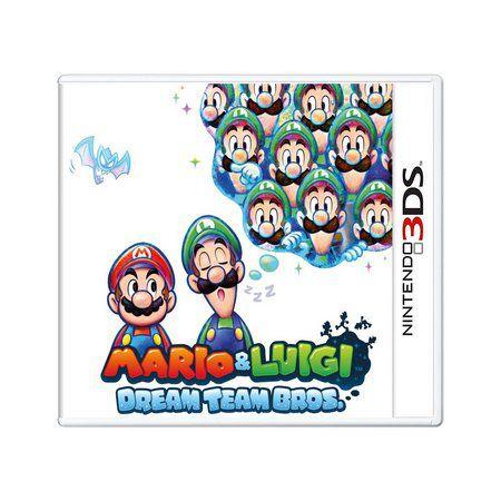 MARIO & LUIGI DREAM TEAM 3DS USADO