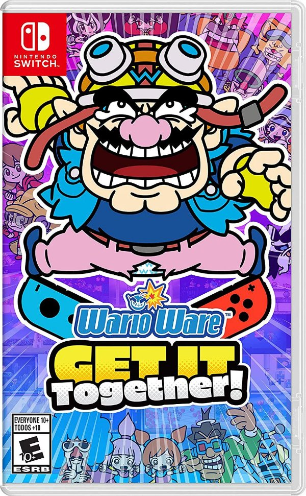 WARIOWARE: GET IT TOGETHER! SWITCH