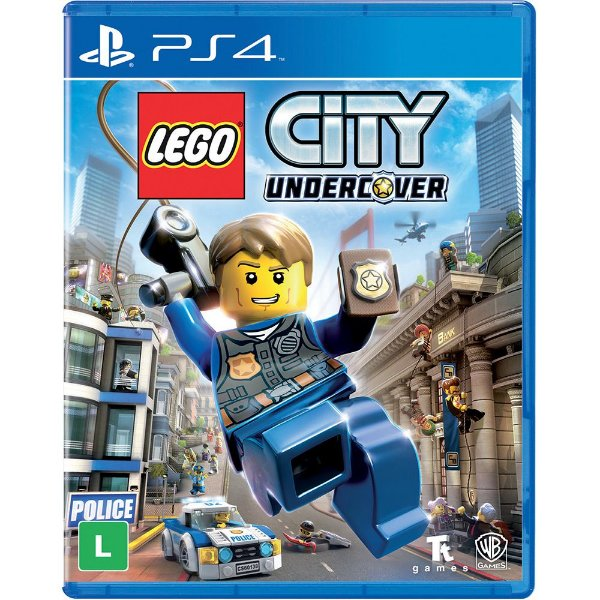 LEGO CITY UNDERCOVER PS4 USADO