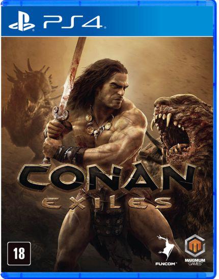 CONAN EXILES - PS4 USADO
