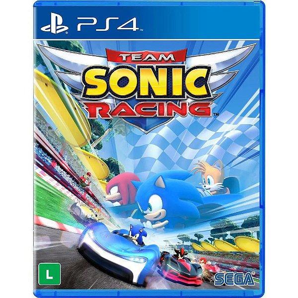 TEAM SONIC RACING PS4 USADO