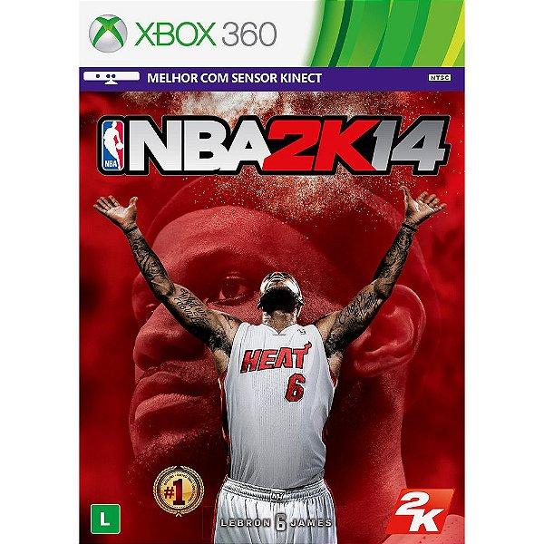NBA 2K14 X360 USADO