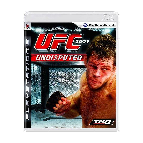 UFC 2009 PS3 USADO