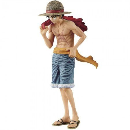 FIGURA BANPRESTO ONE PIECE MAGAZINE MONKEY D. LUFFY