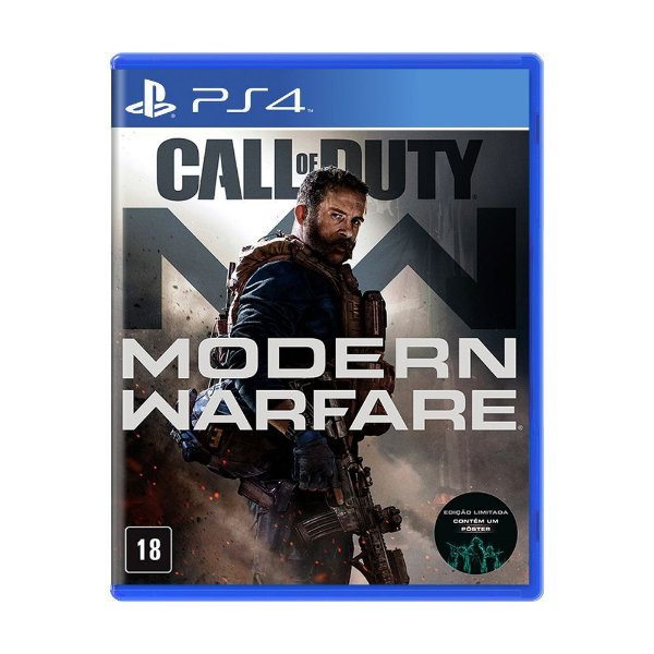 CALL OF DUTY MODERN WARFARE PS4 USADO