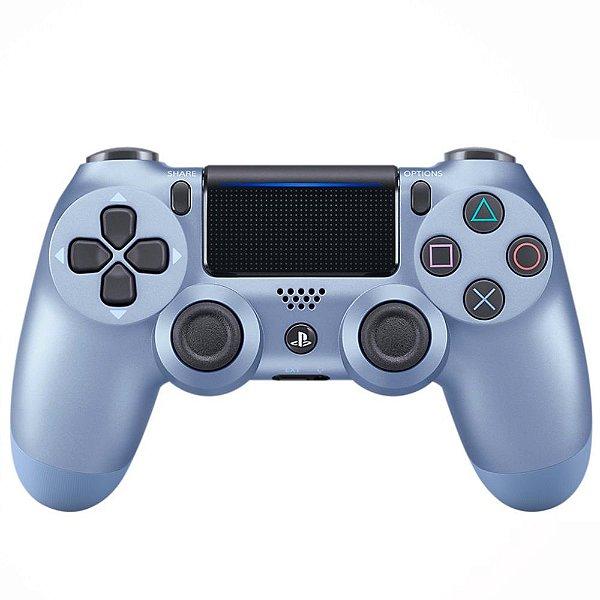 CONTROLE DUALSHOCK 4 TITANIUM BLUE PS4