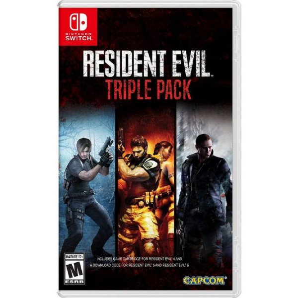 RESIDENT EVIL TRIPLE PACK SWITCH
