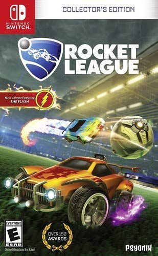 ROCKET LEAGUE COLLECTOR'S EDITION - SWITCH USADO