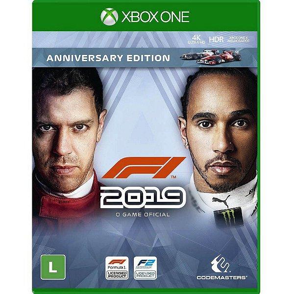 F1 2019 ANNIVERSARY EDITION XONE USADO