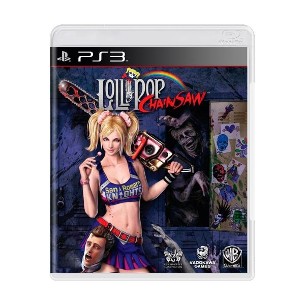 LOLLIPOP CHAINSAW PS3 USADO