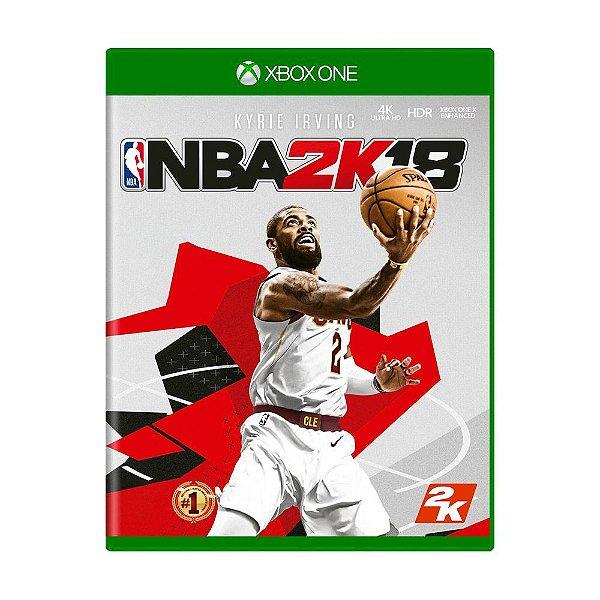 NBA 2K18 XBOX ONE USADO