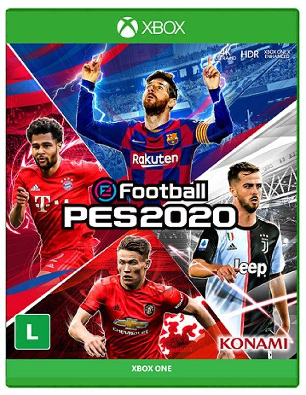 EFOOTBALL PRO EVOLUTION SOCCER 2020 XBOX ONE USADO