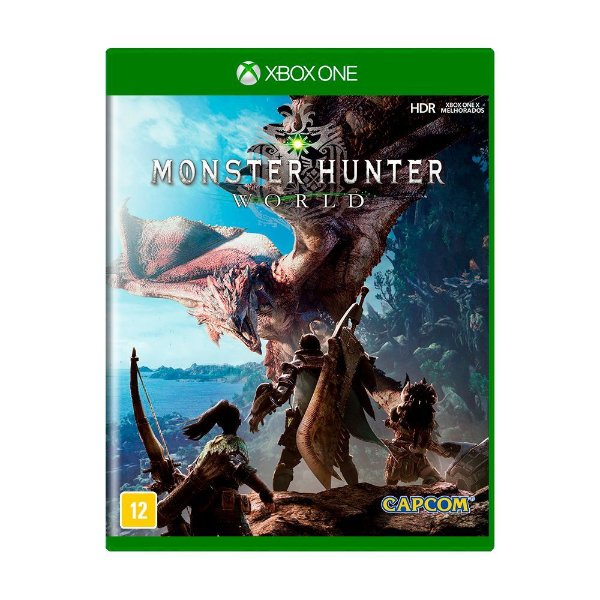 MONSTER HUNTER WORLD XBOX ONE USADO