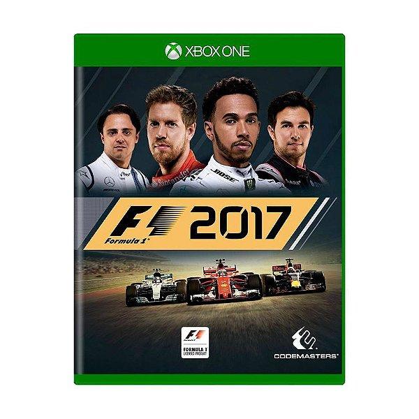 F1 2017 XBOX ONE USADO