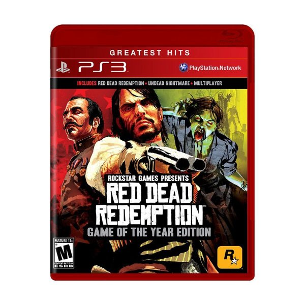 RED DEAD REDEMPTION GAME OF YEAR PS3 USADO