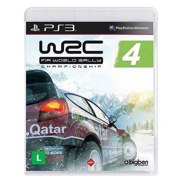 WRC 4 FIA RALLY PS3 USADO