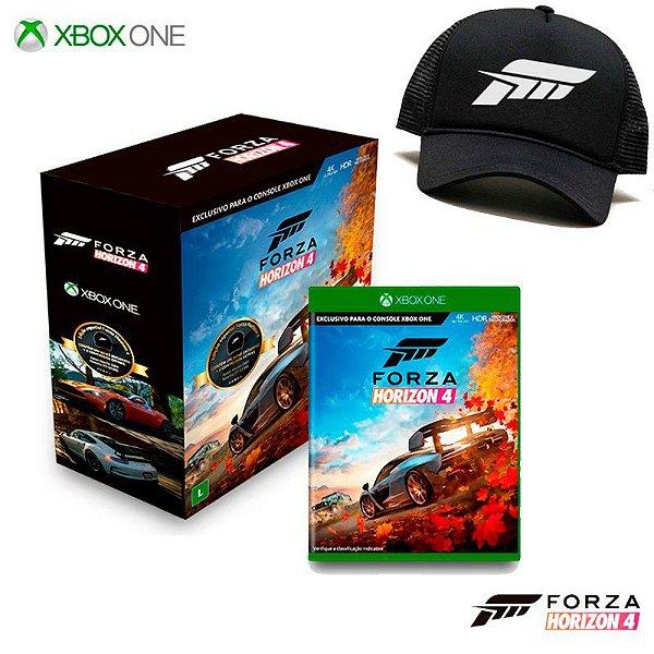 FORZA HORIZON 4 EDIÇÃO ESPECIAL + BONÉ XBOX ONE