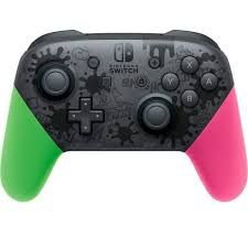 CONTROLE PRO SWITCH SPLATOON 2 LIMITED EDITION