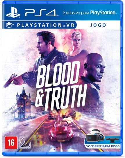 BLOOD E TRUTH VR PS4