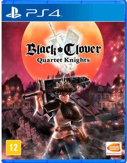 BLACK CLOVER: QUARTET KNIGHTS - PS4 USADO