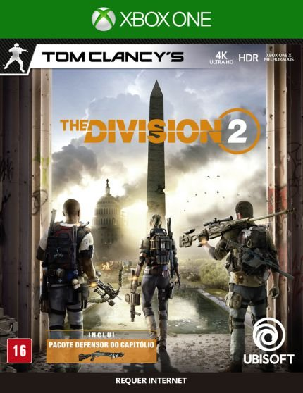 TOM CLANCY'S THE DIVISION 2 XBOX ONE USADO