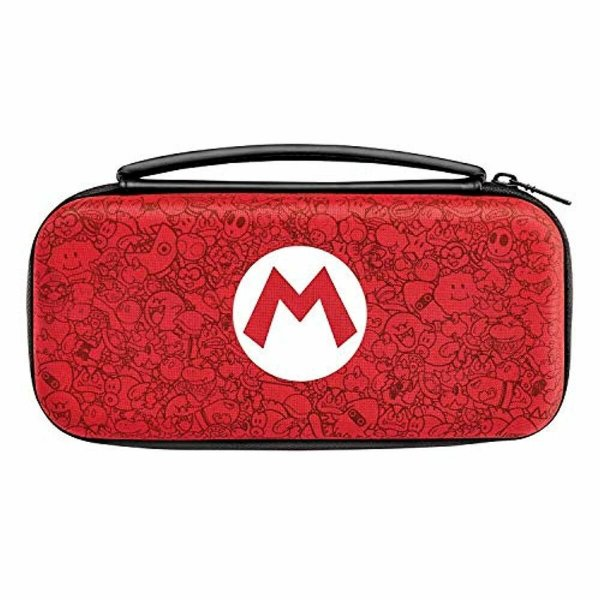 CASE SWITCH SLIM TRAVEL CASE MARIO REMIX EDITION 500-089