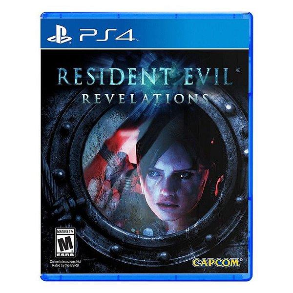 RESIDENT EVIL REVELATIONS PS4 USADO