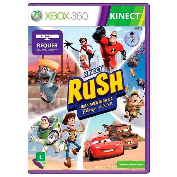 KINECT RUSH X360 USADO