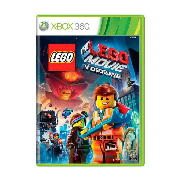 LEGO THE MOVIE XBOX 360 USADO