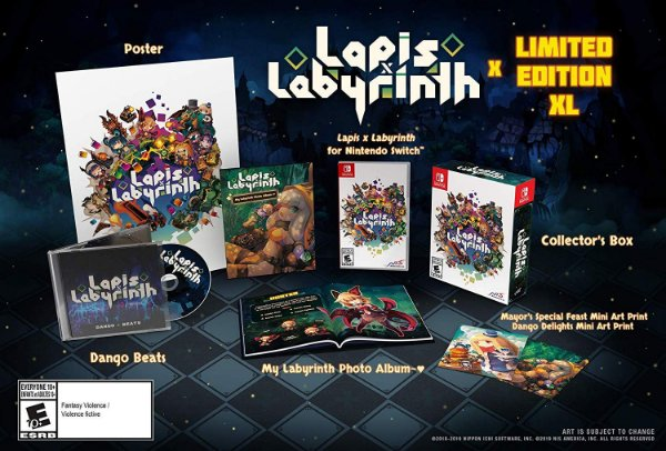 LAPIS X LABYRINTH LIMITED EDITION - SWITCH