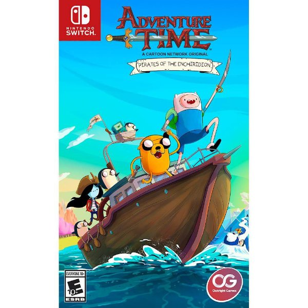 ADVENTURE TIME: PIRATES OF THE ENCHIRIDION - SWITCH