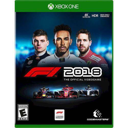 F1 2018 XBOX ONE USADO
