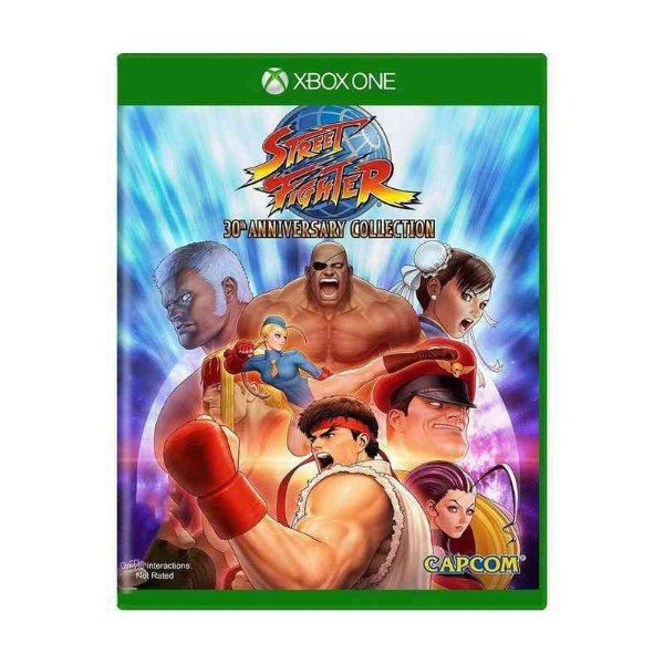 STREET FIGHTER 30TH COLLECTION XBOX ONE USADO