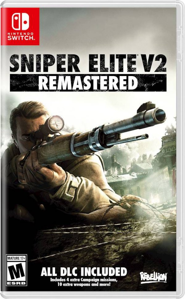 SNIPER ELITE V2 REMASTERED SWITCH