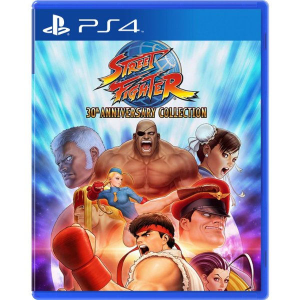 STREET FIGHTER 30TH COLLECTION PS4 USADO