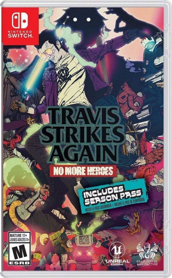 TRAVIS STRIKES AGAIN: NO MORE HEROES - SWITCH