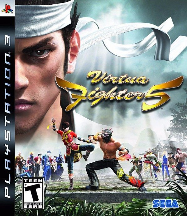 VIRTUA FIGHTER 5 PS3 USADO