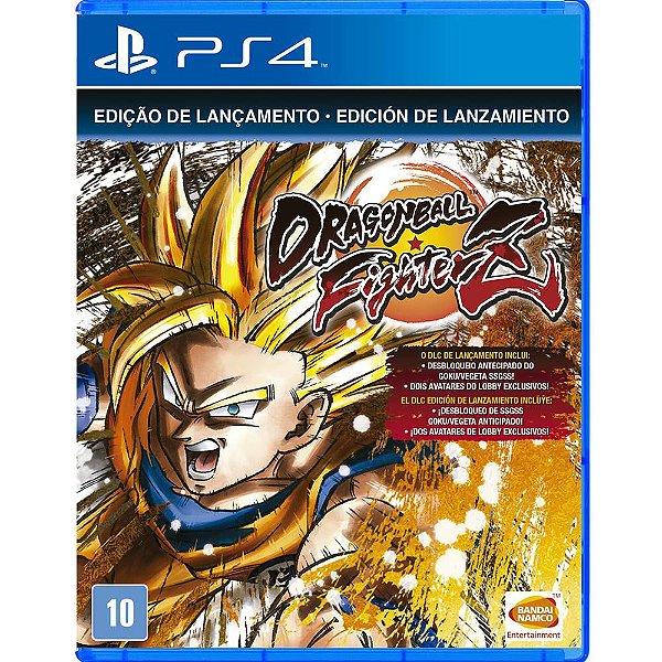 DRAGON BALL FIGHTERZ PS4 USADO