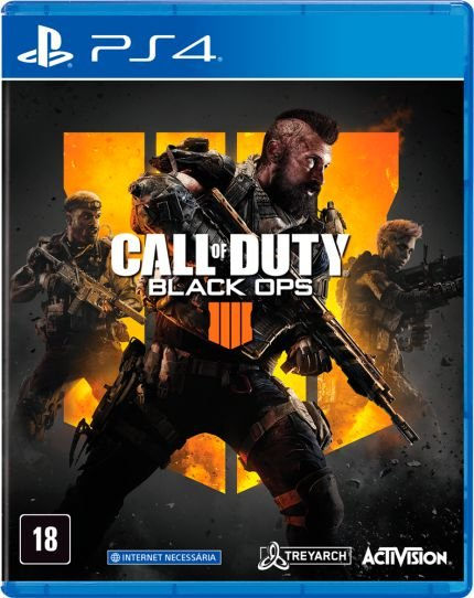 CALL OF DUTY BLACK OPS 4 PS4 USADO
