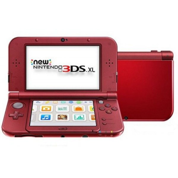 NEW NINTENDO 3DS XL VERMELHO USADO