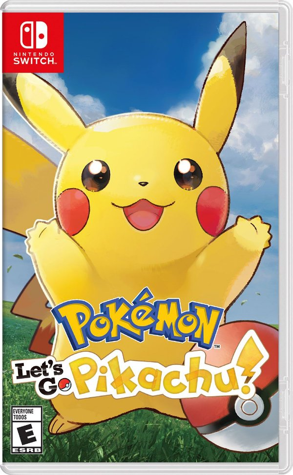 POKEMON LET'S  GO PIKACHU! SWITCH USADO