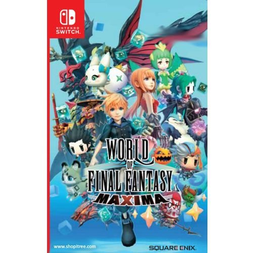 WORLD OF FINAL FANTASY MAXIMA - SWITCH