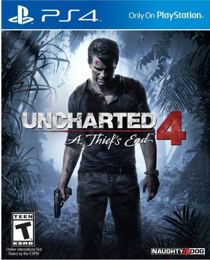 UNCHARTED 4 PS4 (ENVELOPE) USADO