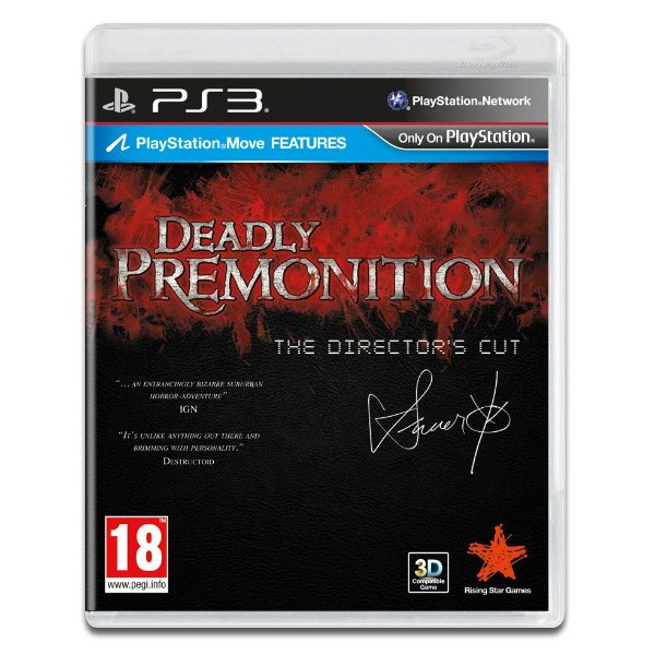 DEADLY PREMONITION PS3 USADO