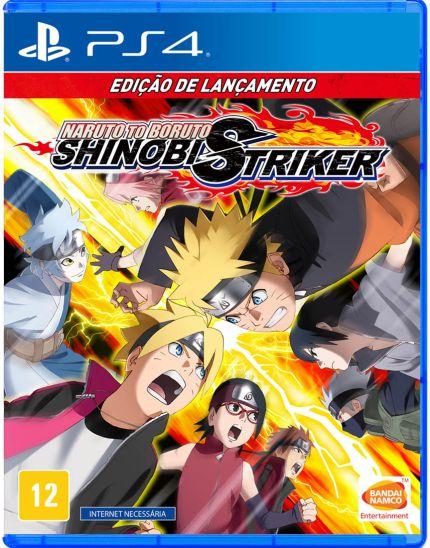 NARUTO TO BORUTO: SHINOBI STRIKER EDICAO DE LANCAMENTO - PS4