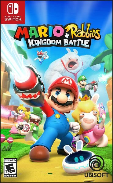 MARIO + RABBIDS KINGDOM BATTLE SWITCH USADO