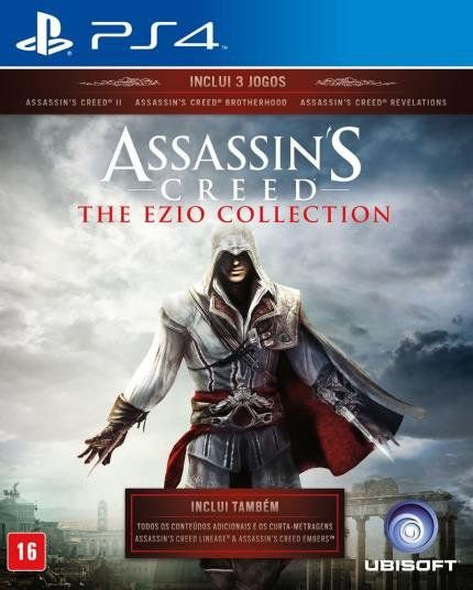 ASSASSINS CREED EZIO COLLECTION PS4 USADO
