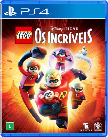 LEGO OS INCRIVEIS PS4 USADO
