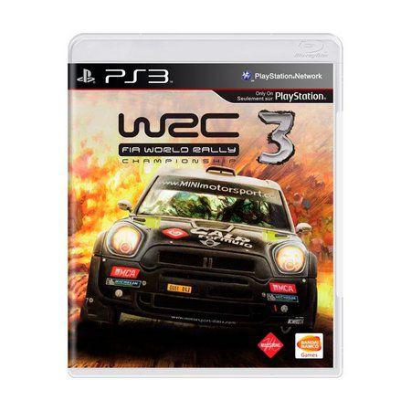 WRC 3 FIA RALLY PS3 USADO